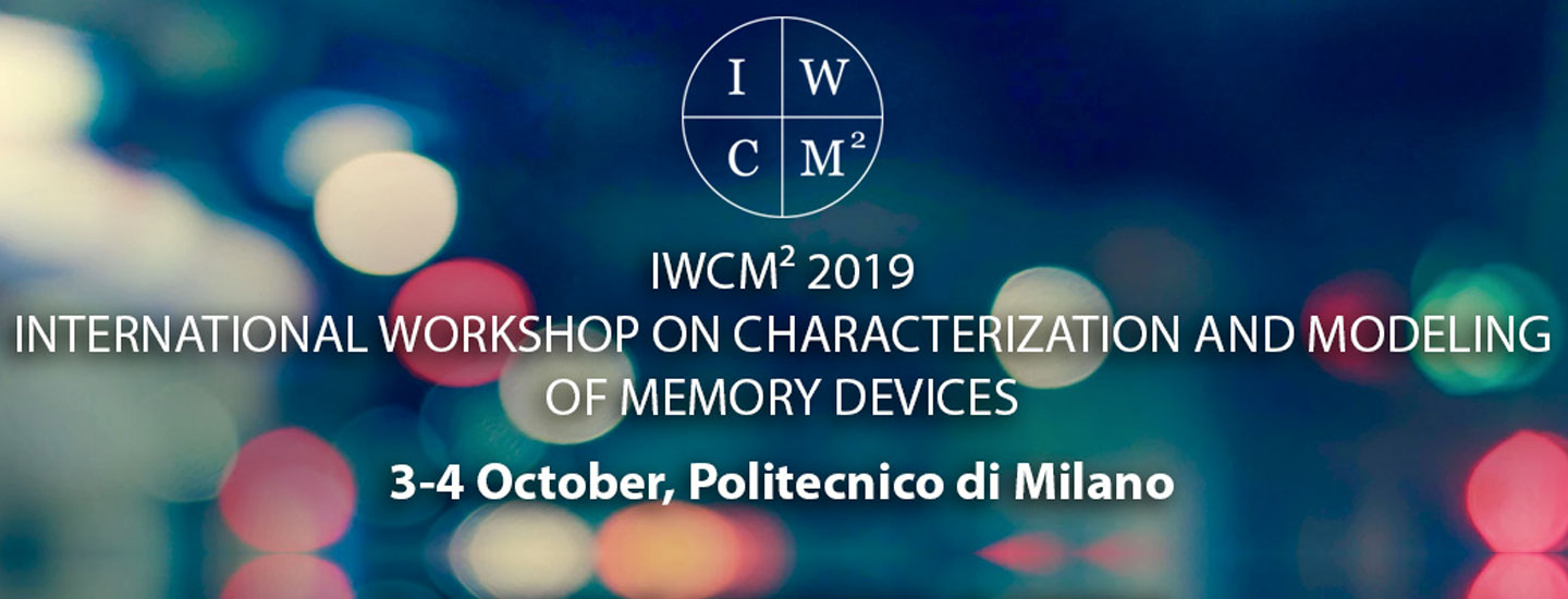 Immagine IWCM2 INTERNATIONAL WORKSHOP ON CHARACTERIZATION AND MODELING OF MEMORY DEVICES